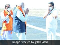 "PM Narendra Modi Takes A Walk In ""White Desert"", Attends Cultural Event"