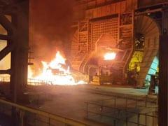 विशाखापटनम स्टील प्लांट में हादसा, 4 कर्मचारी बुरी तरह झुलसे