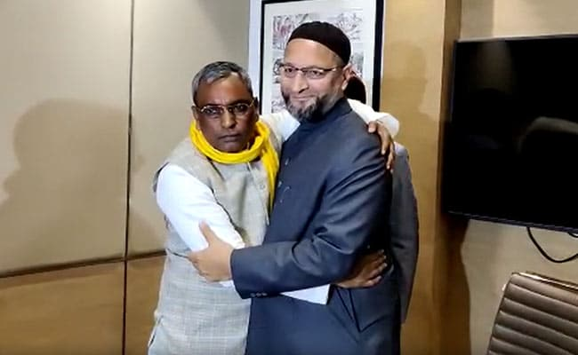 'Not Here To Change Names': Asaduddin Owaisi's Lucknow Visit Creates Buzz