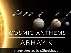 Diplomat Makes Video Of Planetary Anthems For Saturn, Jupiter Conjunction