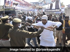UP Congress Chief, Party Workers Arrested For Taking Out March Without Permission: Police