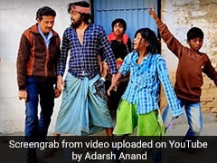 Adarsh Anand ने पवन सिंह के 'चीर देंगे फाड़ देंगे' सॉन्ग पर यूं मनाया नया साल, Funny Dance Video की धूम