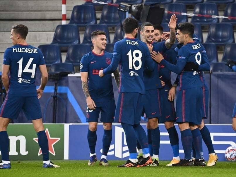 Champions League: Atletico Madrid Beat RB Salzburg 2-0 To Reach Last 16