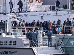 Bangladesh Ships Rohingya Refugees To Remote Island Despite Outrage