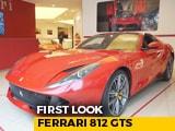 Video : Ferrari 812 GTS Comes To India