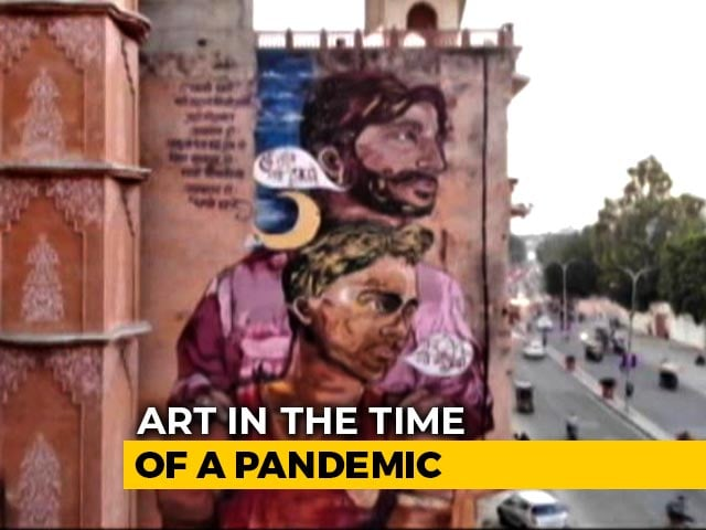 Video : Street Art In The Time Of A Pandemic
