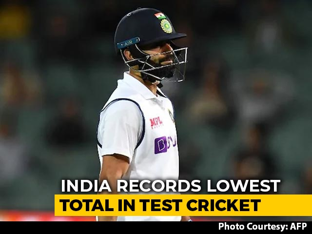 Video : Australia vs India: India Post Their Lowest-Ever Total In Test Cricket