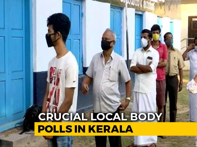 Video : Voting Begins In Phase 1 of Kerala's Crucial Local Body Elections