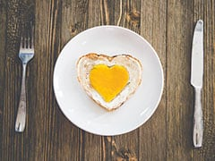 Protein-Rich Breakfast For Kids: Watch How To Make Heart-Shaped Eggs