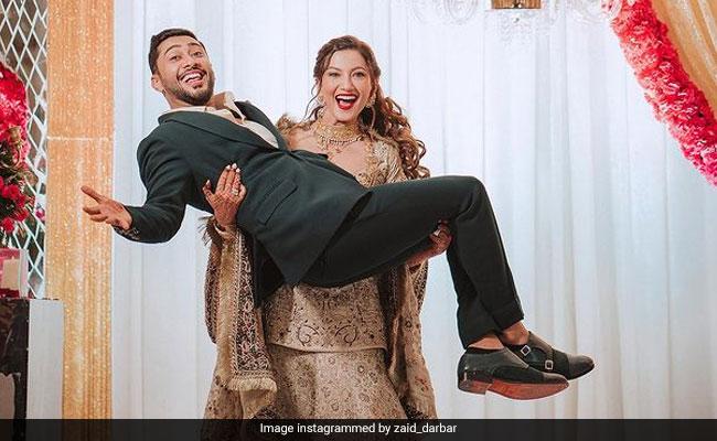 Gauahar Khan And Zaid Darbar Had This Much Fun At Their Walima. See Pics