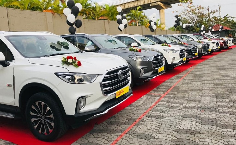 The MG Gloster SUV is Indias first autonomous level 1 premium SUV