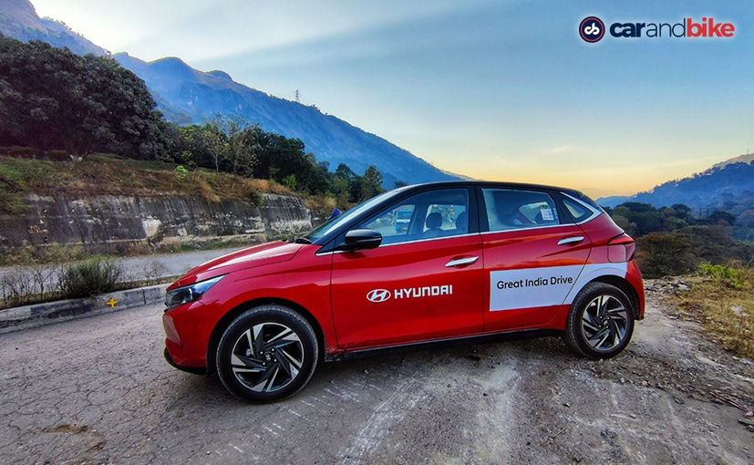 I had the Turbo DCT version of the Hyundai i20 with me during the drive.