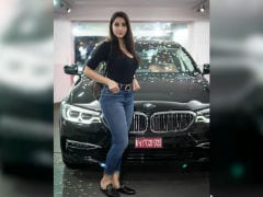 Actor Nora Fatehi Brings Home The BMW 5 Series