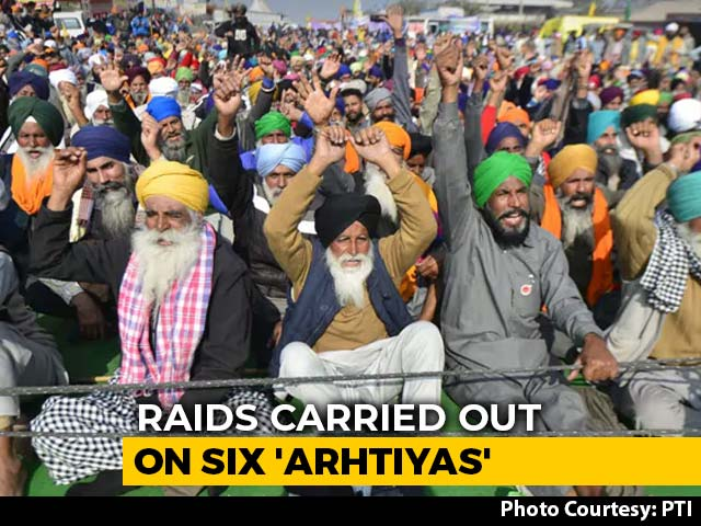 Video : Punjab Farm Agent To Shut Shops For 4 Days In Protest Against IT Raids