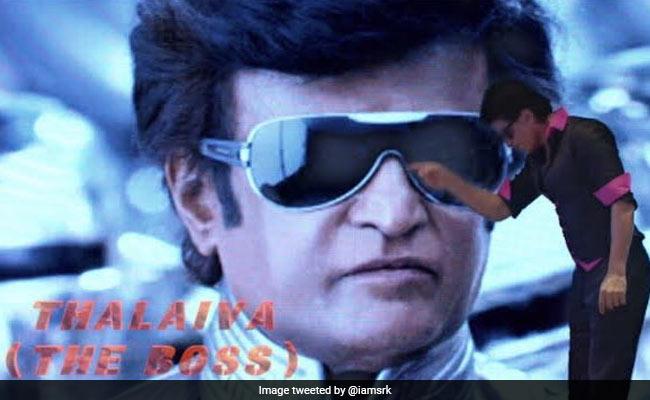 ICYMI: Shah Rukh Khan's Blockbuster Birthday Wish For Rajinikanth