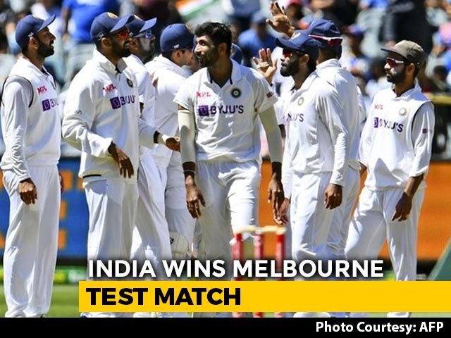 Video : 2nd Test: India Bounce Back From Adelaide Loss In Style To Level Series