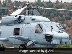 On Navy Day, First Look At US-Made MH-60 Romeo Helicopters For India