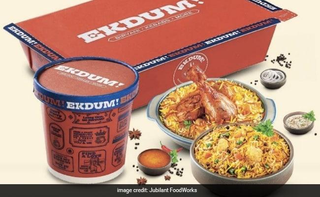 Domino's Pizza Maker Enters Biryani Segment