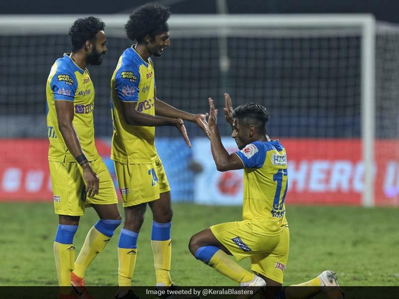 ISL: Kerala Blasters Beat Hyderabad FC 2-0 To Register First Win Of The Season