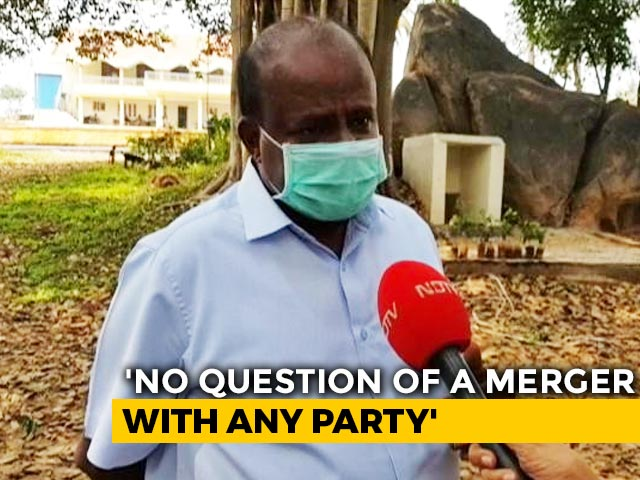 Video : BJP Treats Me With More Respect Than Congress: HD Kumaraswamy To NDTV