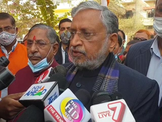 "Video : ""Had Arun Jaitley Been Alive…"": BJP's Sushil Modi Appears To Poke Party"