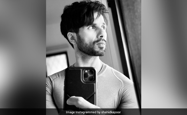 Jersey Wrapped, Shahid Kapoor Looks Forward To 'A Few Days Of Myselfness'