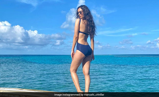 Manushi Chhillar's 'Got The Good Kind Of Blues' In The Maldives