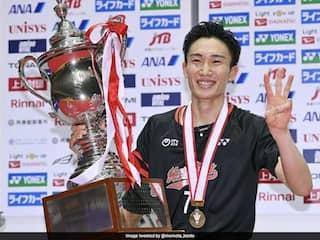 Kento Momota Wins All-Japan Badminton Championship To Cap Comeback After Car Crash