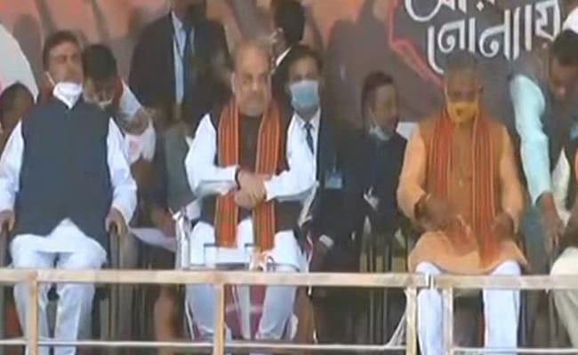 Amit Shah In Bengal LIVE Updates: Ex-Mamata Banerjee Aide Suvendu Adhikari, 50 Others Join BJP At Medinipur Rally
