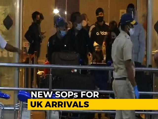 Video : New SOPs For UK Arrivals, Separate Isolation For Those With Mutant Strain