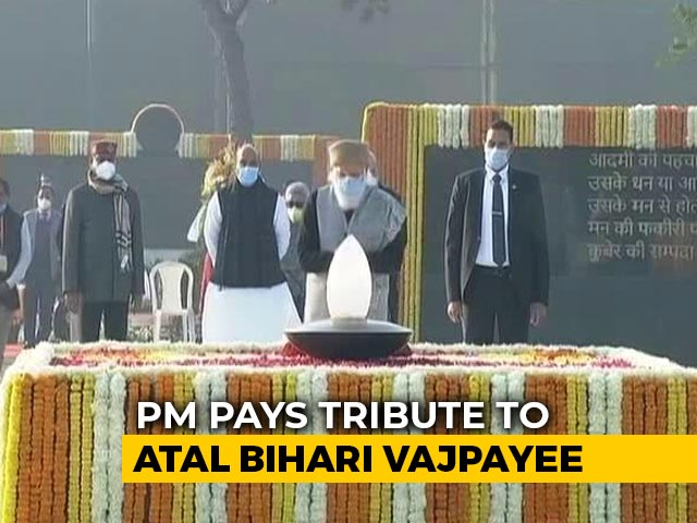 "Video : Atal Bihari Vajpayee Took India To ""Unprecedented Heights..."": PM Modi"