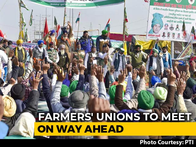 Video : Farmers To Hold Meet Day After PM Modi's Fresh Appeal