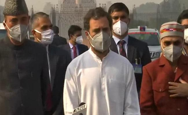 Farmers Don't Trust PM Modi, Says Rahul Gandhi