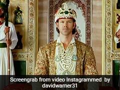 डेविड वॉर्नर बने 'जलाल उद्दीन मोहम्मद अकबर', ऋतिक रोशन बनकर दिखाया ऐसा अंदाज - देखें Video