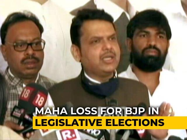 Video : Big Loss For BJP In Maharashtra's Legislative Council Polls