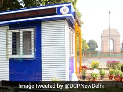 """Delhi Police Set Up Solar Energy-Enabled """"Modern Beat Booth"""" At India Gate"""