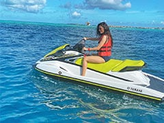Manushi Chhillar's Style Of Exploring Maldives Is Way Cooler Than Ours