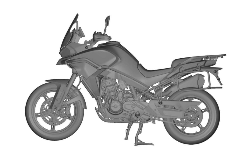 The CFMoto MT800, built on the KTM 790 Adventure, is nearing completion