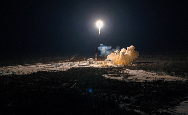 Russia Launches UK Telecom Satellites In Space