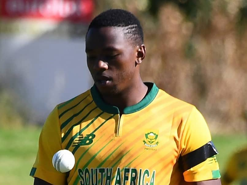 Kagiso Rabada To Miss England ODI Series With Hip Injury