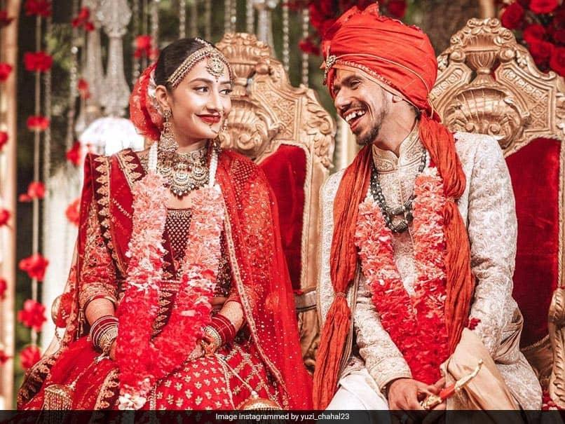 """For Infinity And Beyond"": Yuzvendra Chahal Ties Knot With Dhanashree Verma. See Pics"
