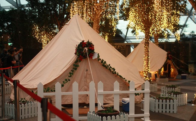 Go Glamping: Spend Night At Luxury Tents At Singapore Aiport For Year-End Holidays