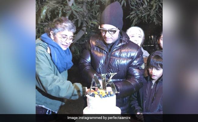 ICYMI: Aamir Khan And Kiran Rao's Anniversary Celebrations In Gir