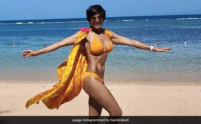 Mandira Bedi's Throwback Vacation Pic Is All About Sun, Sand And Sea
