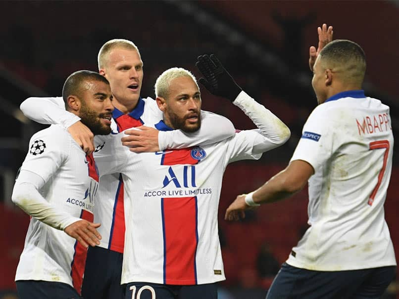 UCL: Neymar Double Downs Manchester United, Gives PSG Champions League Lifeline