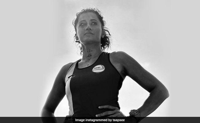 After Her Rashmi Rocket Journey, Taapsee Pannu Wrote This For 'Real Athletes'