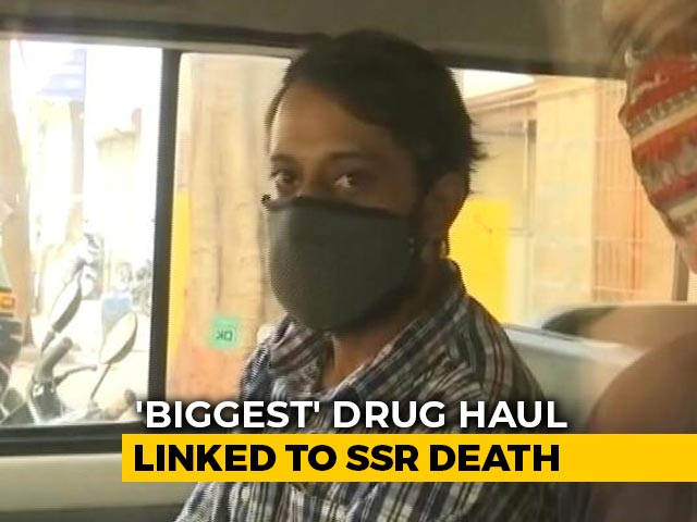 """Video : Arrest In Mumbai After """"Biggest"""" Drug Haul Linked To Sushant Rajput Case"""