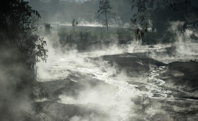 Hundreds Flee Villages As Indonesian Volcano Spews Lava, Ash