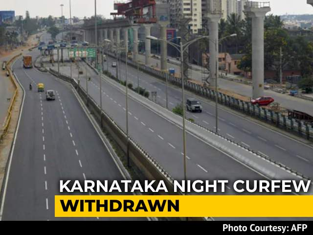 Video : Karnataka Withdraws Night Curfew Day After Announcing It