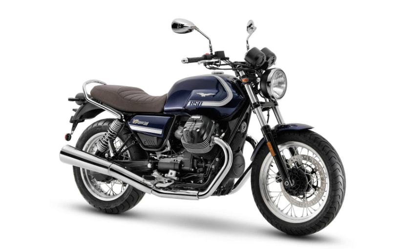 The 2021 Moto Guzzi V7 range gets a bigger engine with more power and higher-spec components
